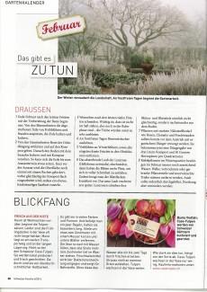 Presseartikel: Blickfang - Frisch aus der Kiste (Schweizer Familie | Ausgabe 4/2016)