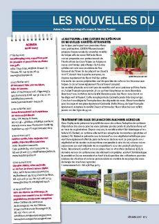 Presseartikel: «CASE TULPEN»: UNE CULTURE FACILITÉE POUR DE NOUVELLES VARIÉTÉS ATTRAYANTES (Horticulture Romande | Januar 2017)