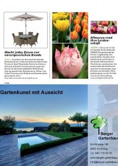 Presseartikel: Pflanzen sind ihre Leidenschaft (Seesicht Zürichsee-Magazin | März 2015)