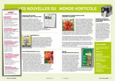 Presseartikel: CASE-Tulpen: Nouveautés 2013/2014 (Horticulture Romande | Januar 2014 )