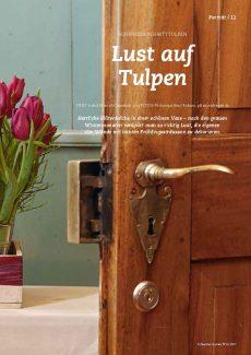 Presseartikel: Lust auf Tulpen (Schweizer Garten | April 2017)